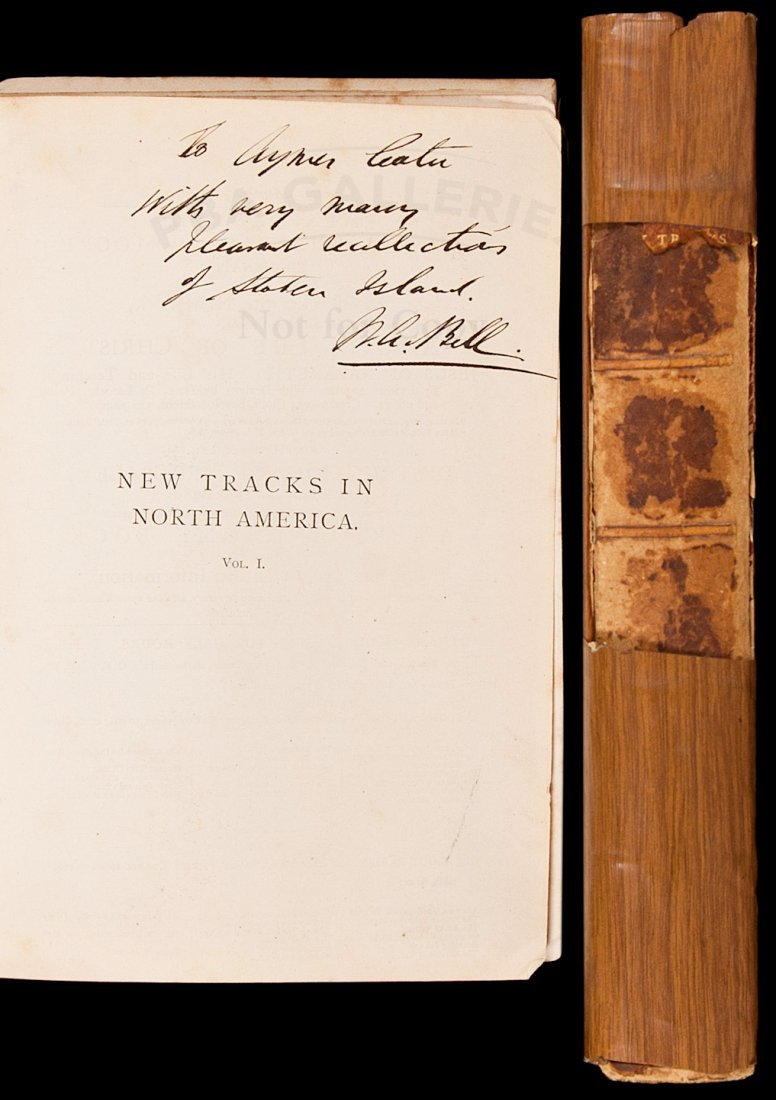 New Tracks in North America 1st ed signed