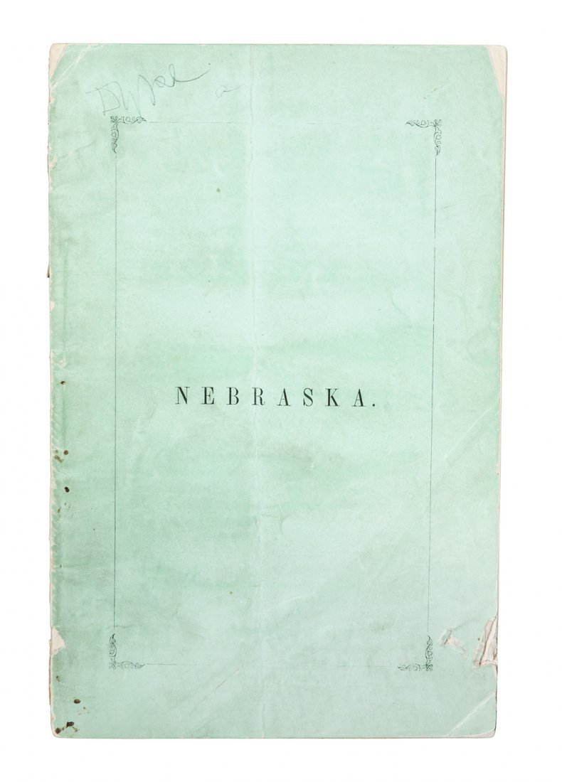 Nebraska: A Poem, Personal and Political 1854
