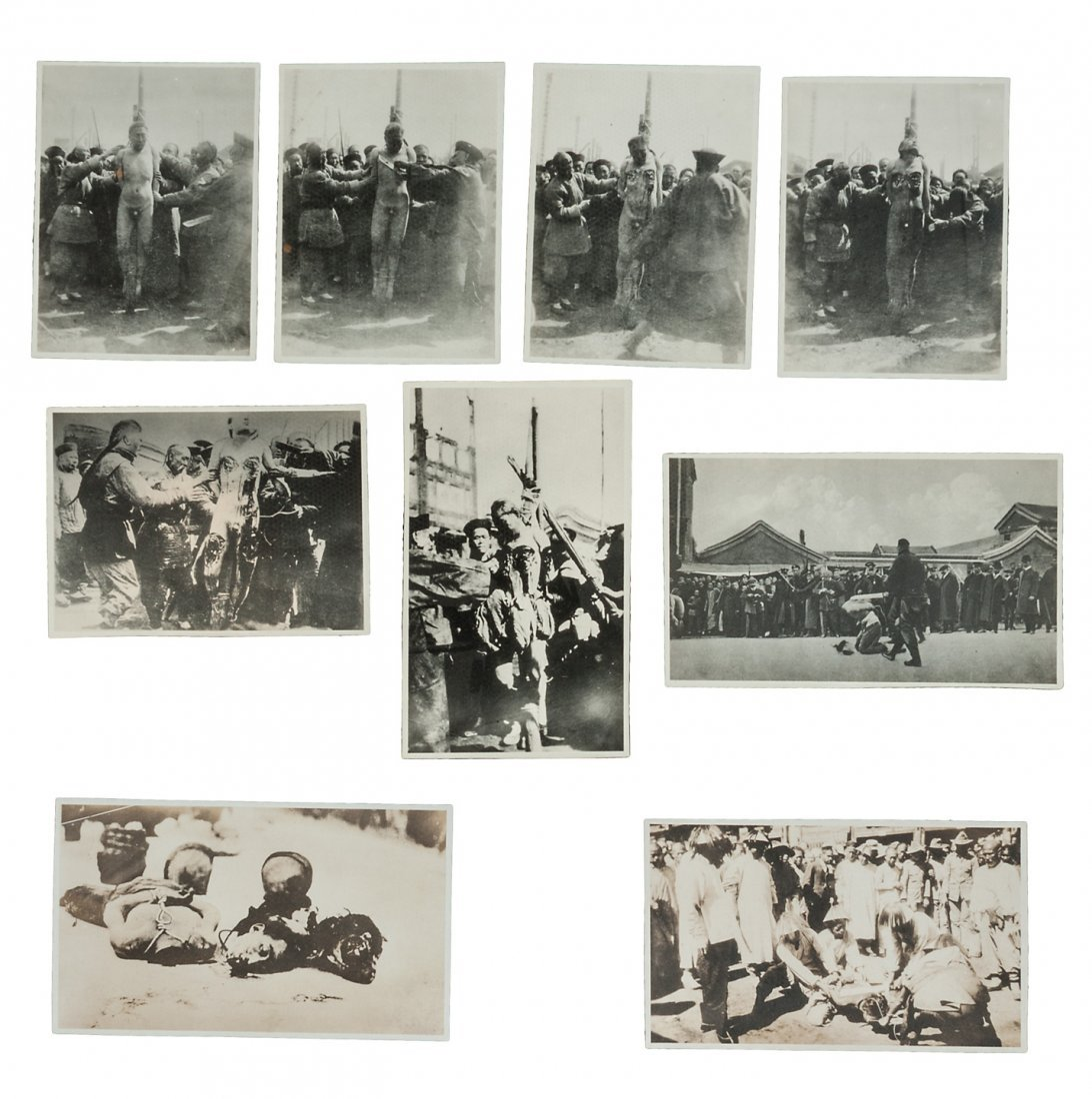 Photos of Chinese atrocities beheadings, etc.