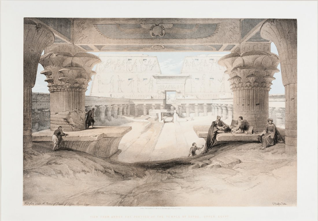 Folio lithos of Egypt by David Roberts