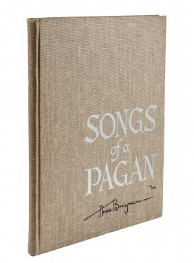 Anne Brigman Songs of a Pagan First Edition
