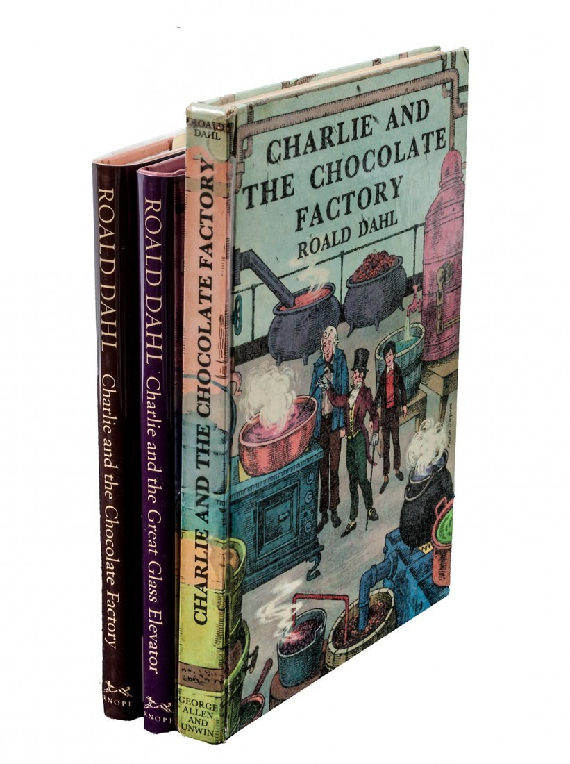 Charlie and the Chocolate Factory 1st UK ed
