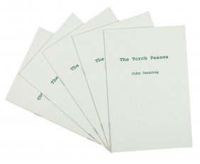 John Dunning The Torch Passes 5 copies