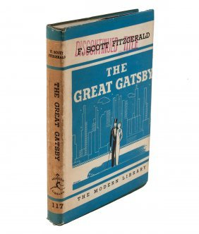 The Great Gatsby Modern Library Edition with DJ