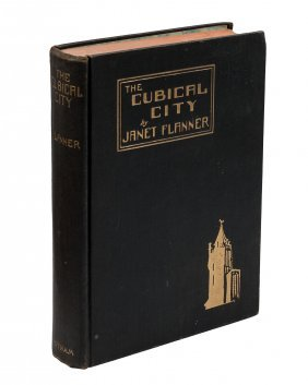 Janet Flanner The Cubical City First Edition
