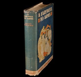 Ernest Hemingway A Farewell to Arms 1st edn