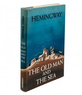 Old Man and the Sea 1st in dj by Hemingway