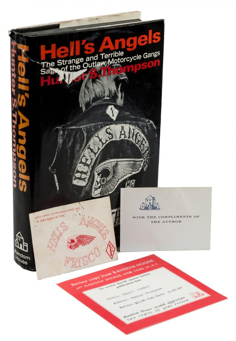 Hell's Angels, signed w/Hell's Angels card