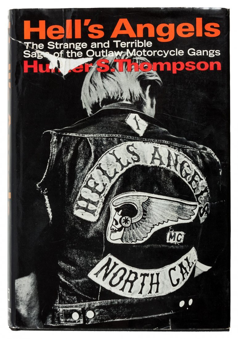 Hell's Angels, signed w/Hell's Angels card - 2