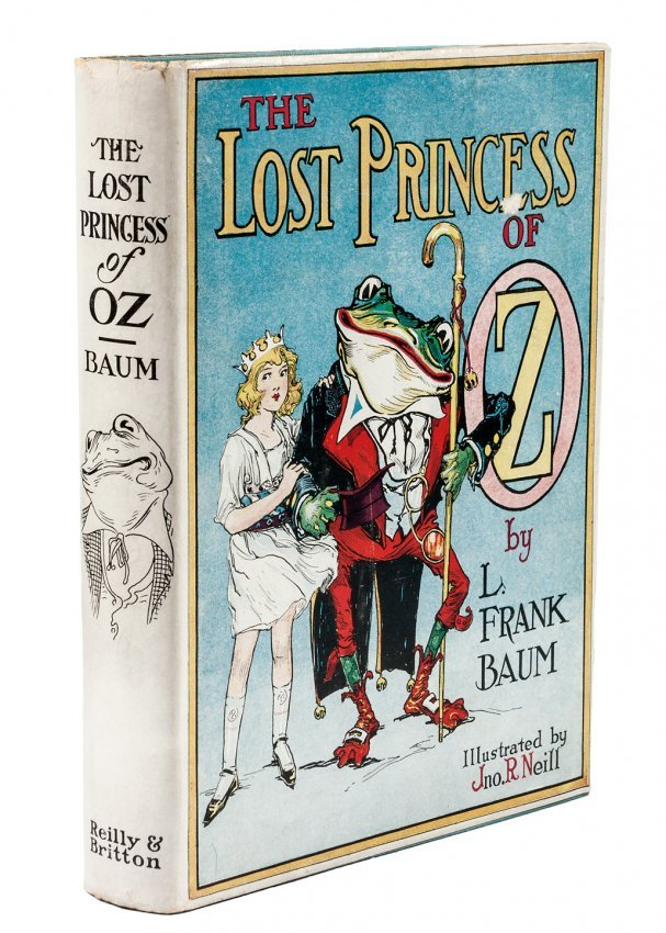 Lost Princess of Oz 1st Edition 1st Printing w/dj
