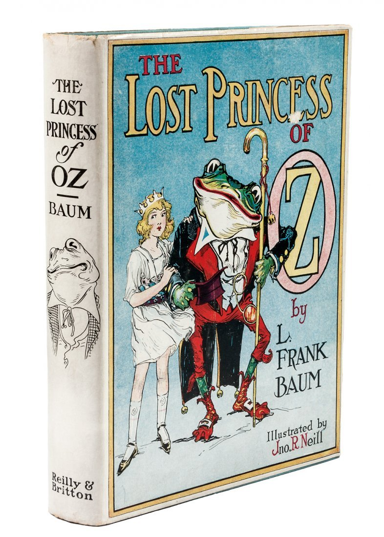 Lost Princess of Oz 1st Edition 1st Printing w/dj