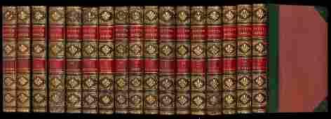 Sir Walter Scott's Waverley Novels 48 volumes