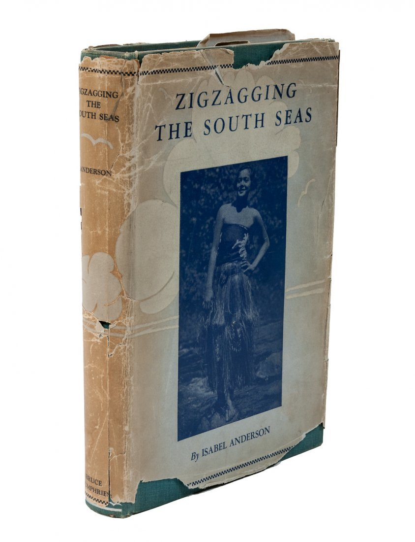 Author's own copy of Zigzagging the South Seas?