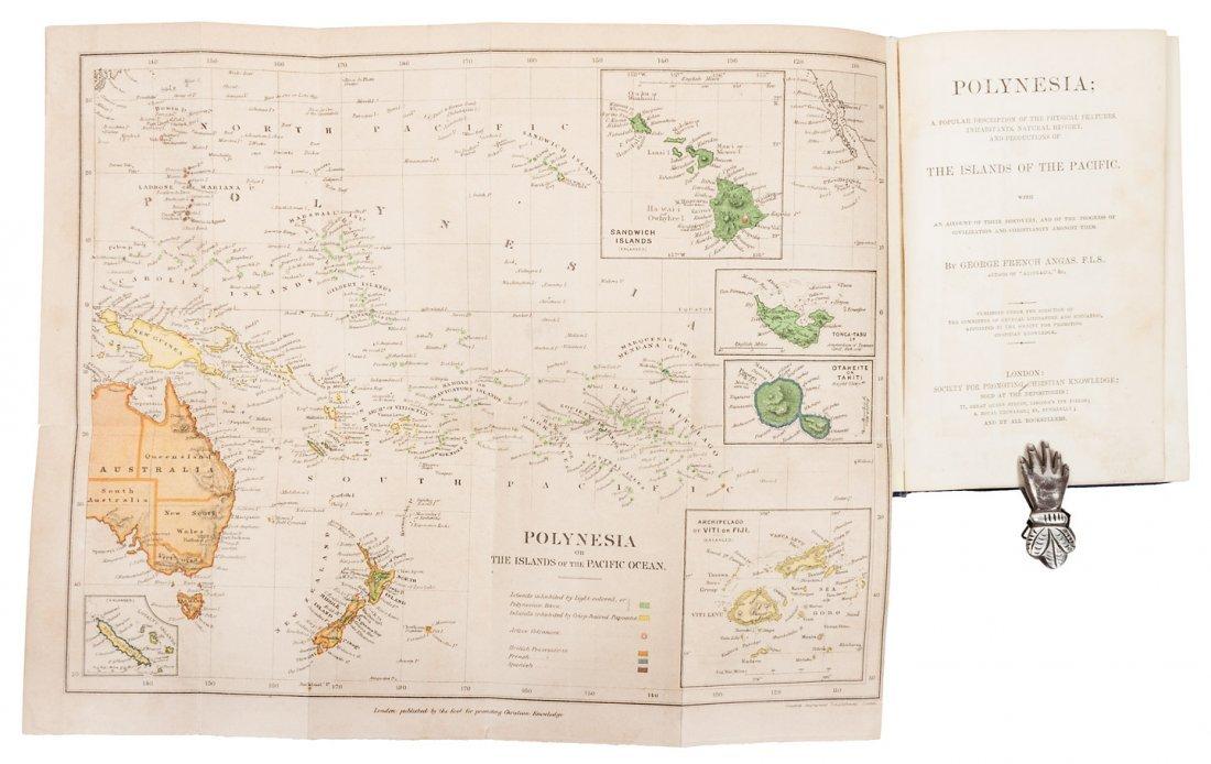 Popular Description of Polynesia w/map 1886