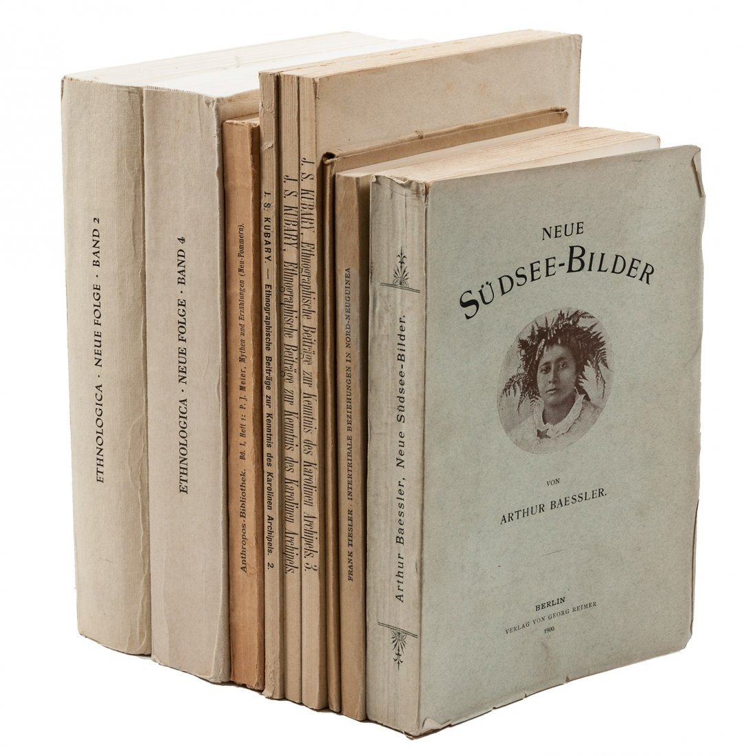 8 volumes in German about South Seas culture