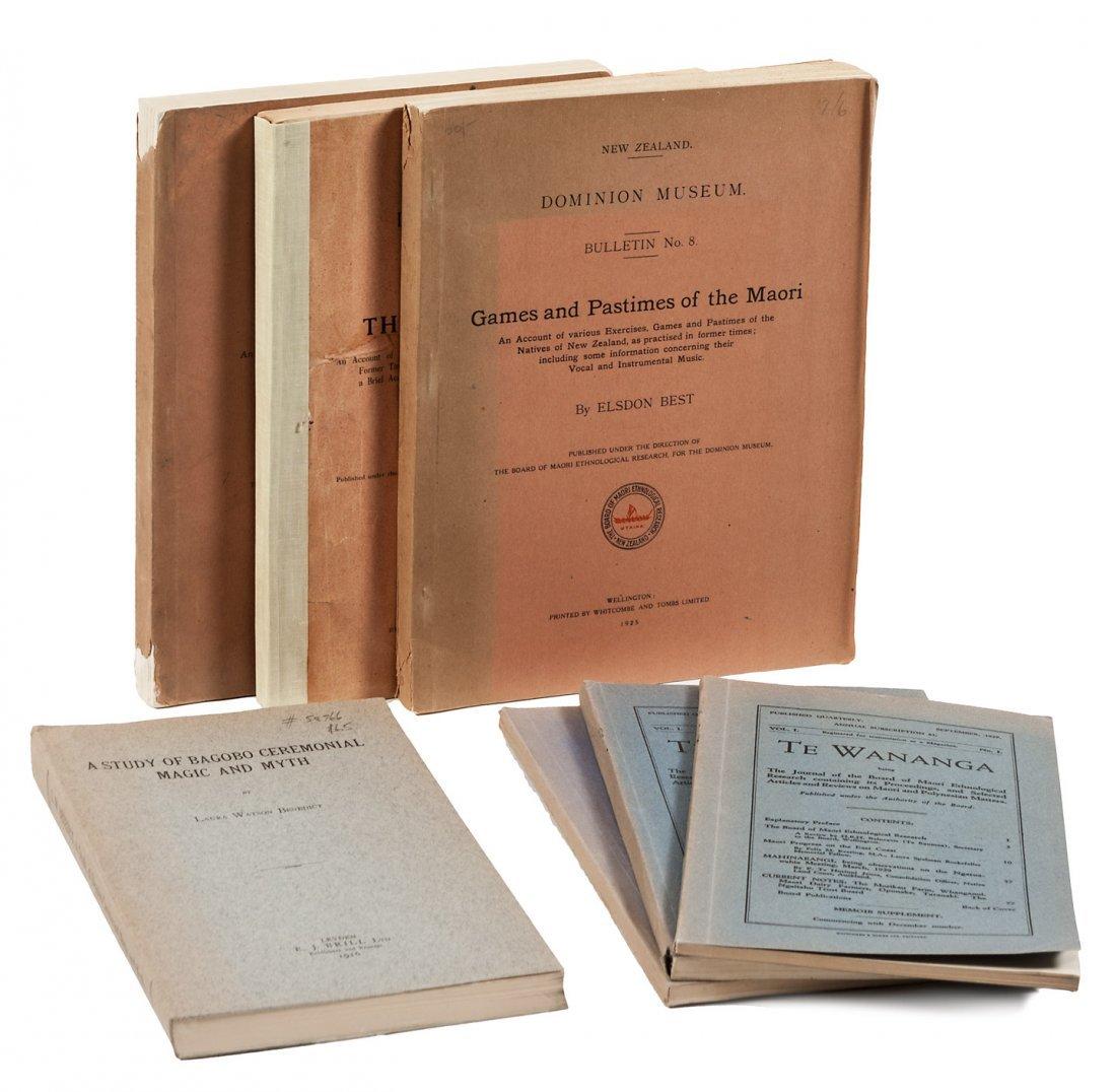 7 volumes of anthropology studies