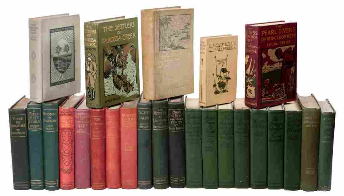 25 novels of South Sea travels by Becker