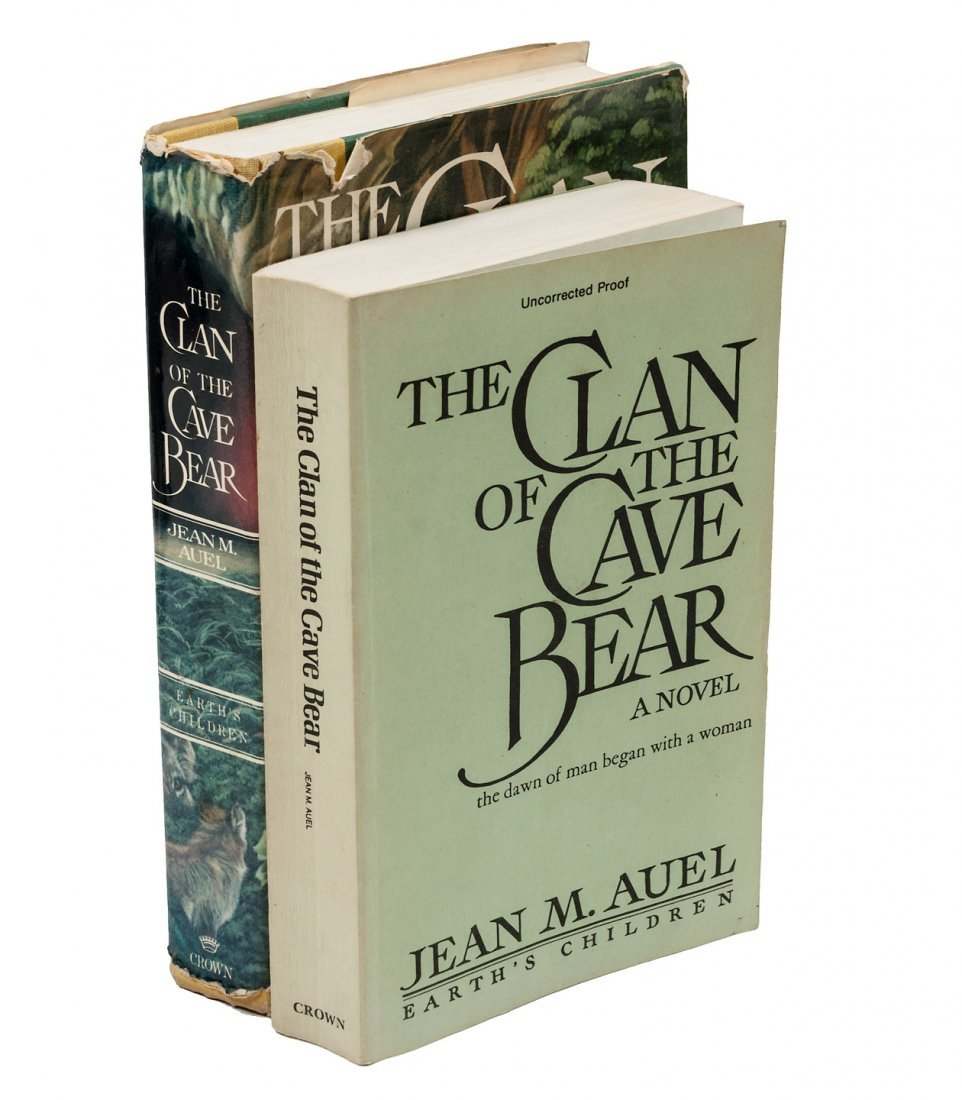Uncorrected Proof copy Clan of the Cave Bear