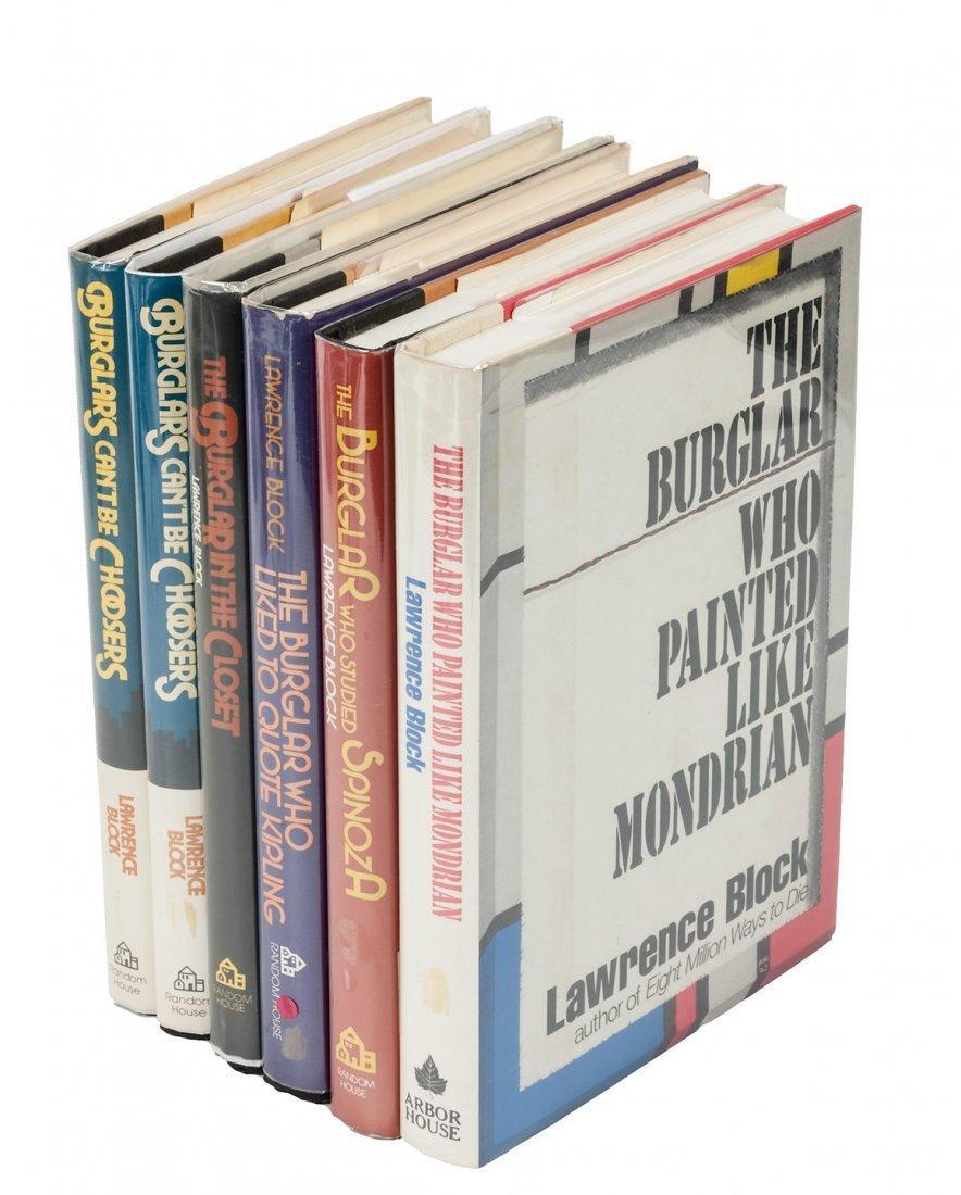 First Editions of Bernie Rhodenbarr novels, signed