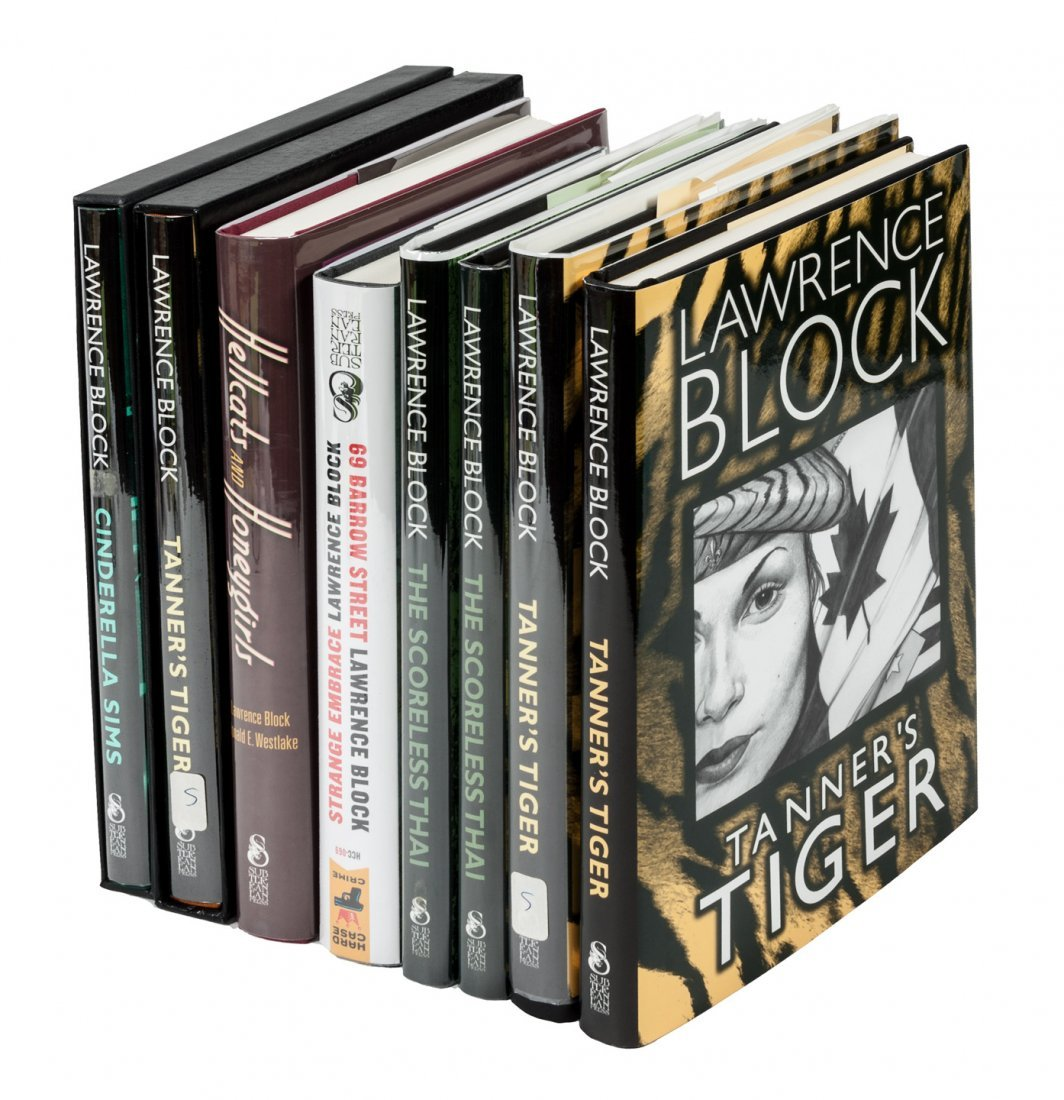 Lawrence Block mysteries from Subterranean Press