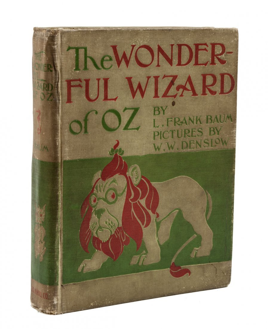 Wonderful Wizard of Oz 1st Ed., 1st state