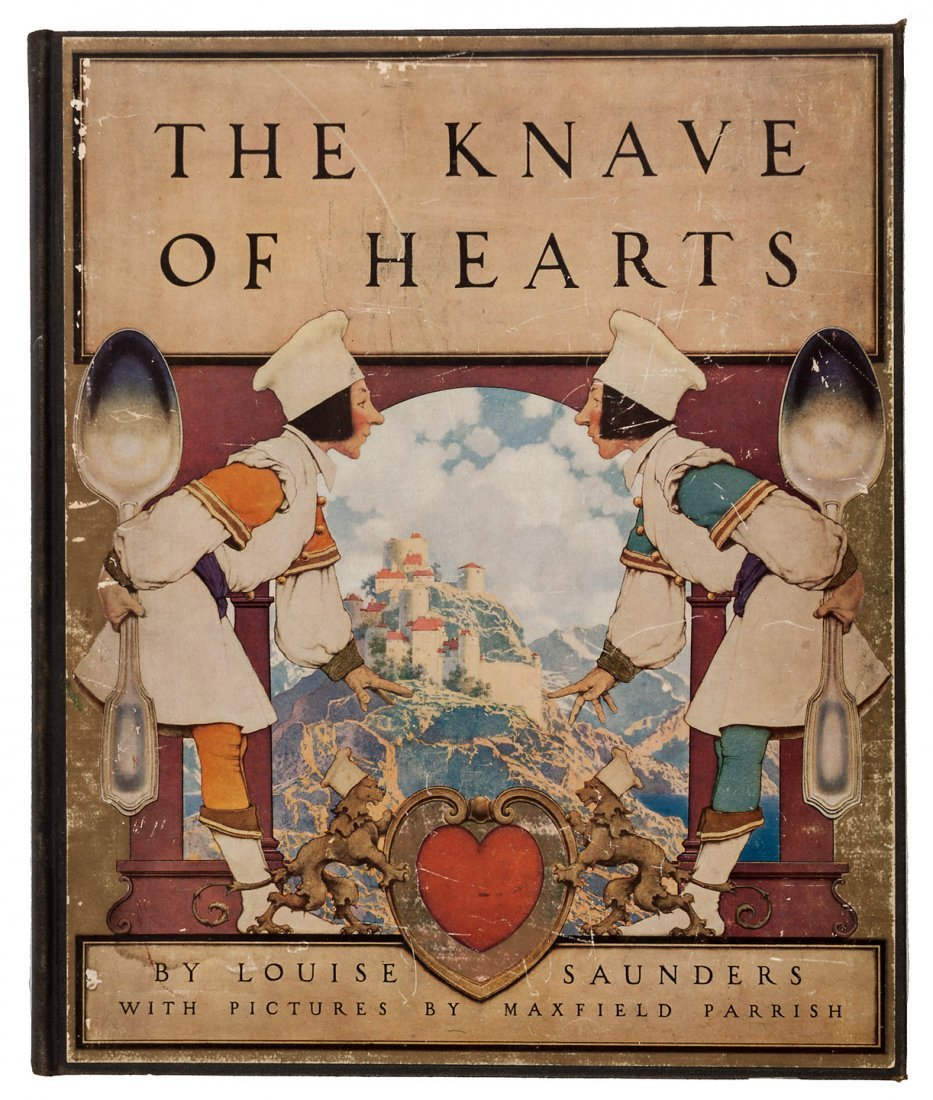 Knave of Hearts illustrated by Maxfield Parrish