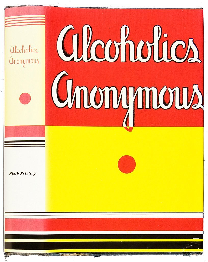 Alcoholics Anonymous First Edition Ninth Printing