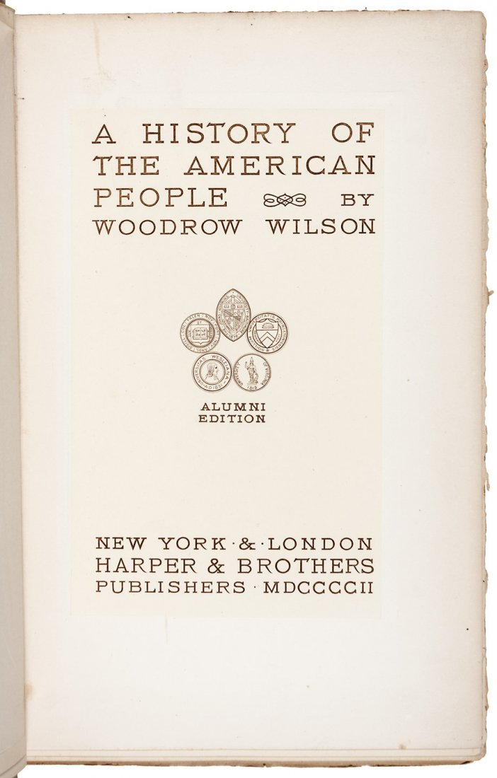 Sigend by Woodrow Wilson - 3