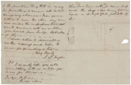 ALs from Jos Taylor to Justice John McLean 1837