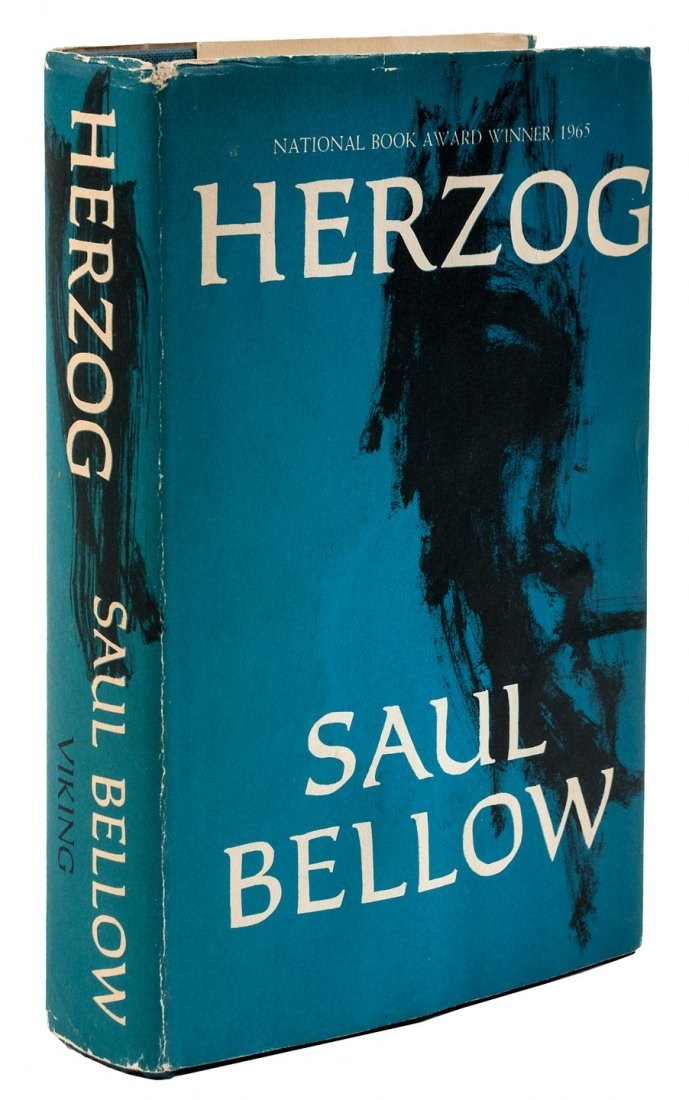 Saul Bellow Herzog inscribed by the author