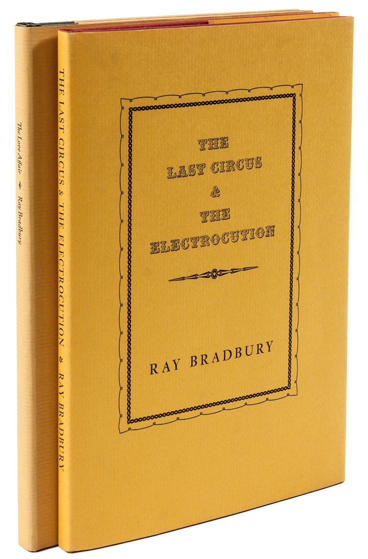 Two by Ray Bradbury both signed
