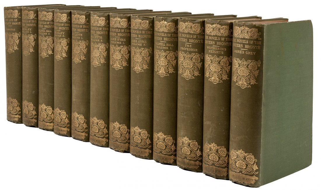 Novels of the Bronte Sisters 12 volumes