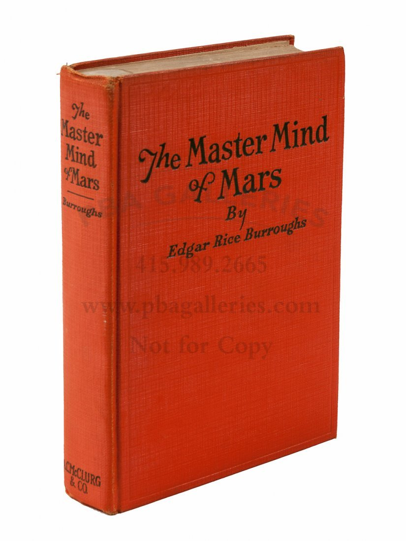 First Edition of Master Mind of Mars