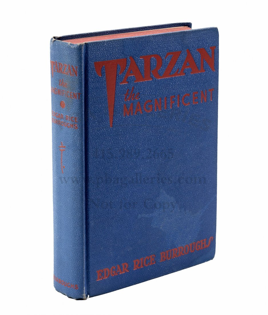 Larry McMurtry's copy of Tarzan the Magnificent