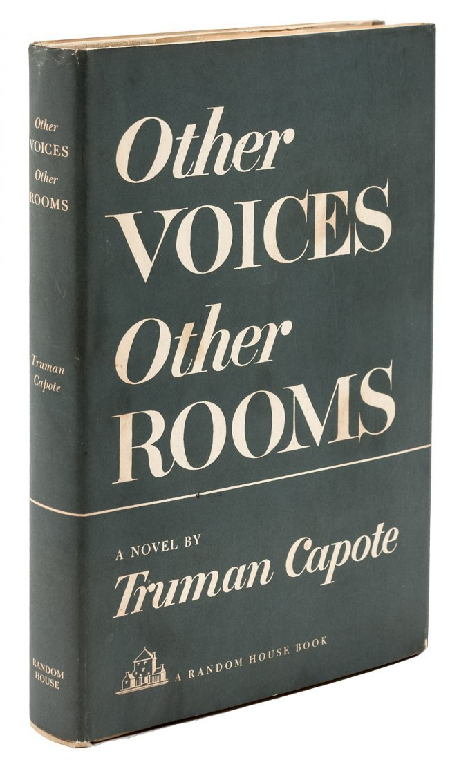 Truman Capote's first book, signed