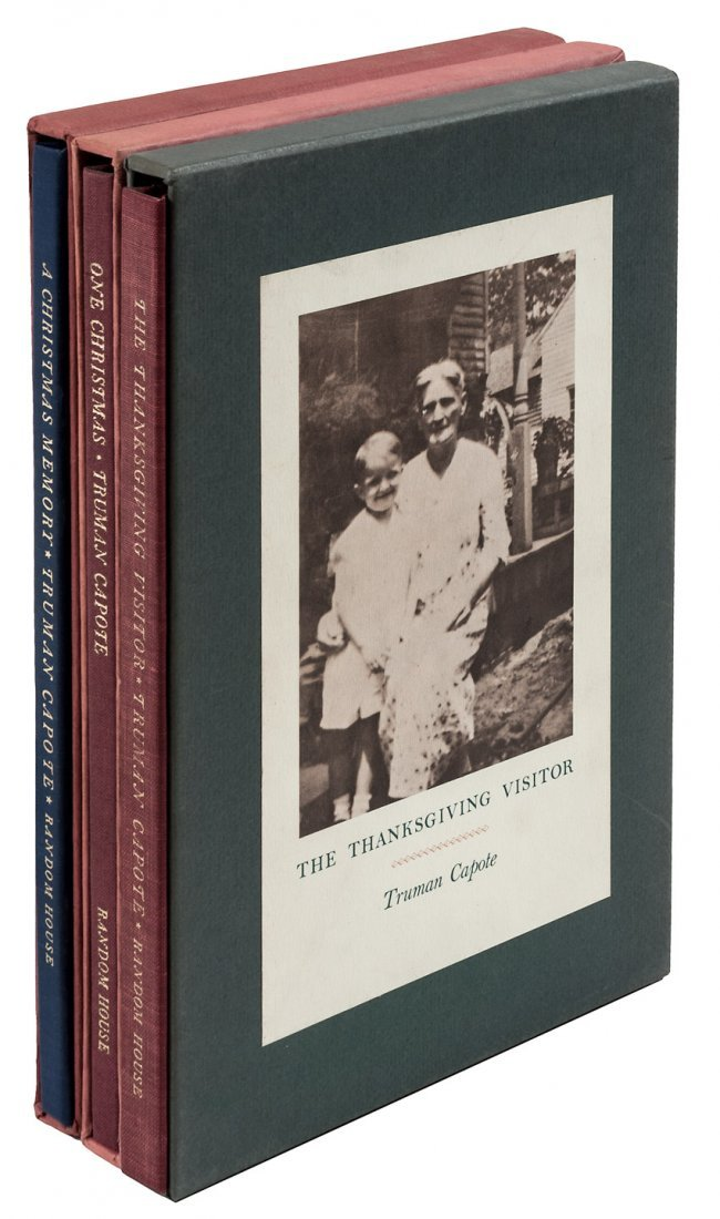 Capote Christmas inscribed