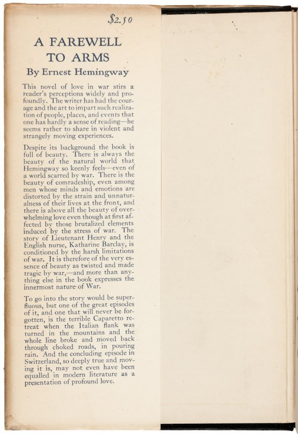 symbolism of rain in ernest hemingways a farewell to arms About a farewell to arms ernest hemingway this student essay consists of approximately 1 page of analysis of symbolic meaning of rain in a farewell to arms.