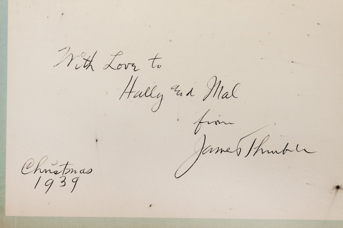 James Thurber The Last Flower Inscribed - 2