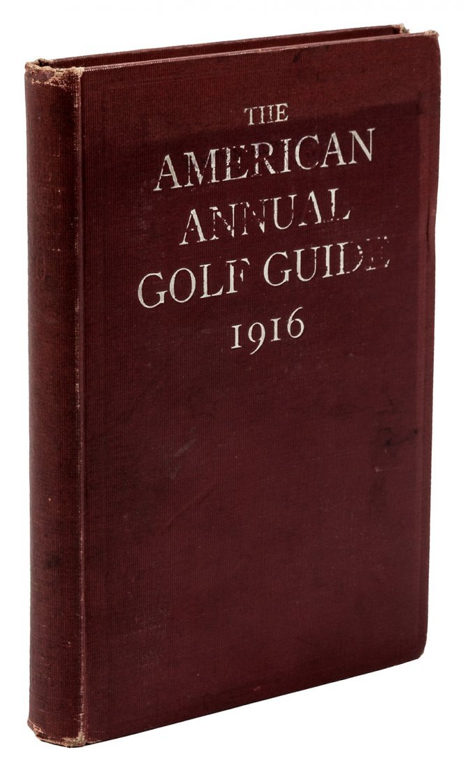 American Annual Golf Guide 1st  year 1916