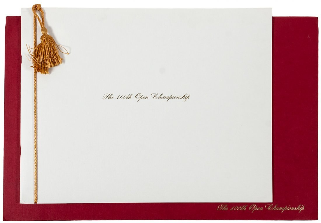 100th Open Championship, limited edition 1971