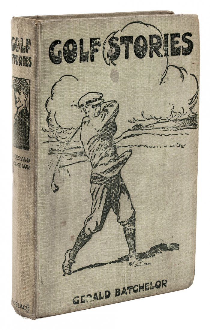 Gerald Batchelor Golf Stories 1st Edition