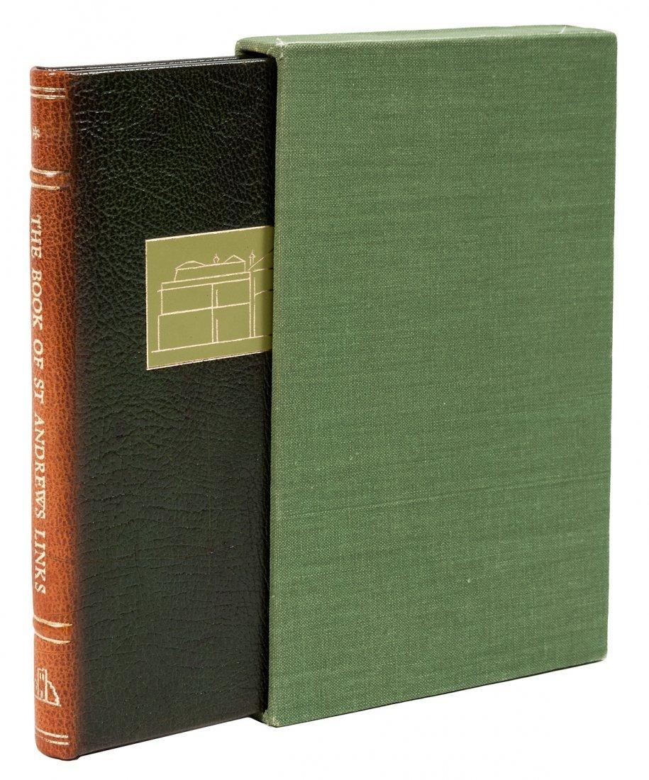 Book of St Andrews signde limited Ellesborough