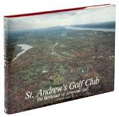 Signed limited book on St. Andrew's NY