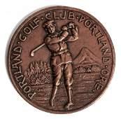 Portland Golf Club Oregon bronze medal