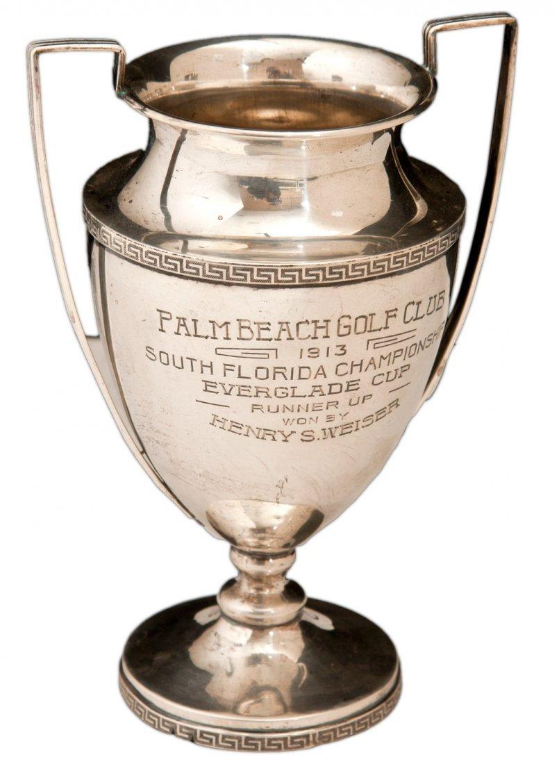 Sterling silver trophy Palm Beach Golf club