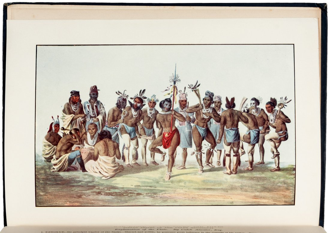 Grant edition of McKenney & Hall's Indian Tribes