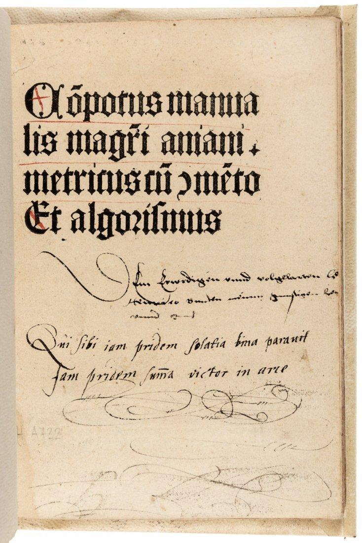 Rare 1488 work on algorithms