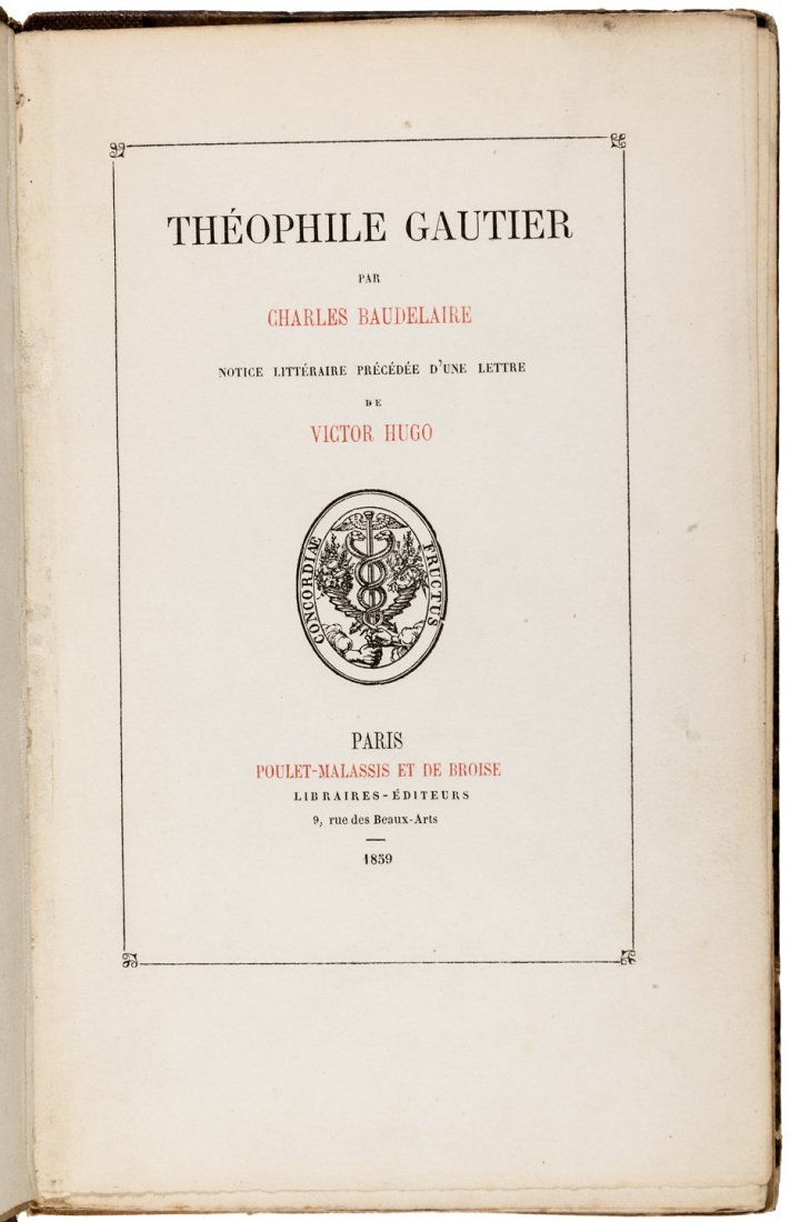 Theophile Gautier by Charles Baudelaire