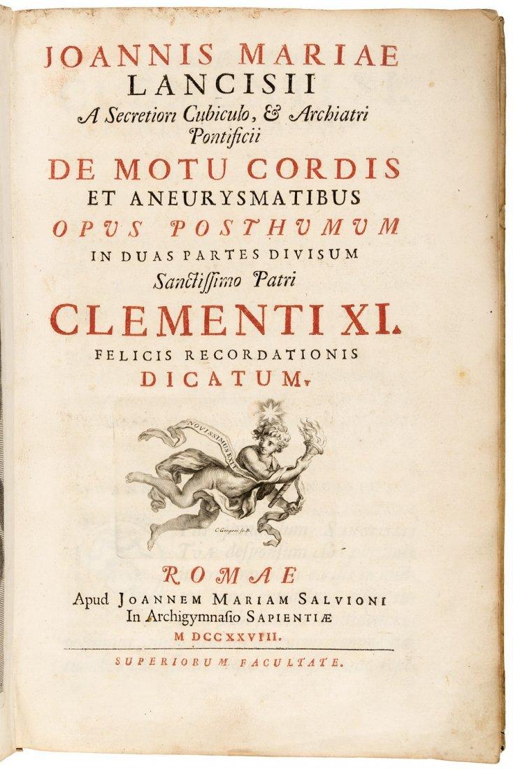 De Motu Cordis et Aneurysmatibus 1728 - 2