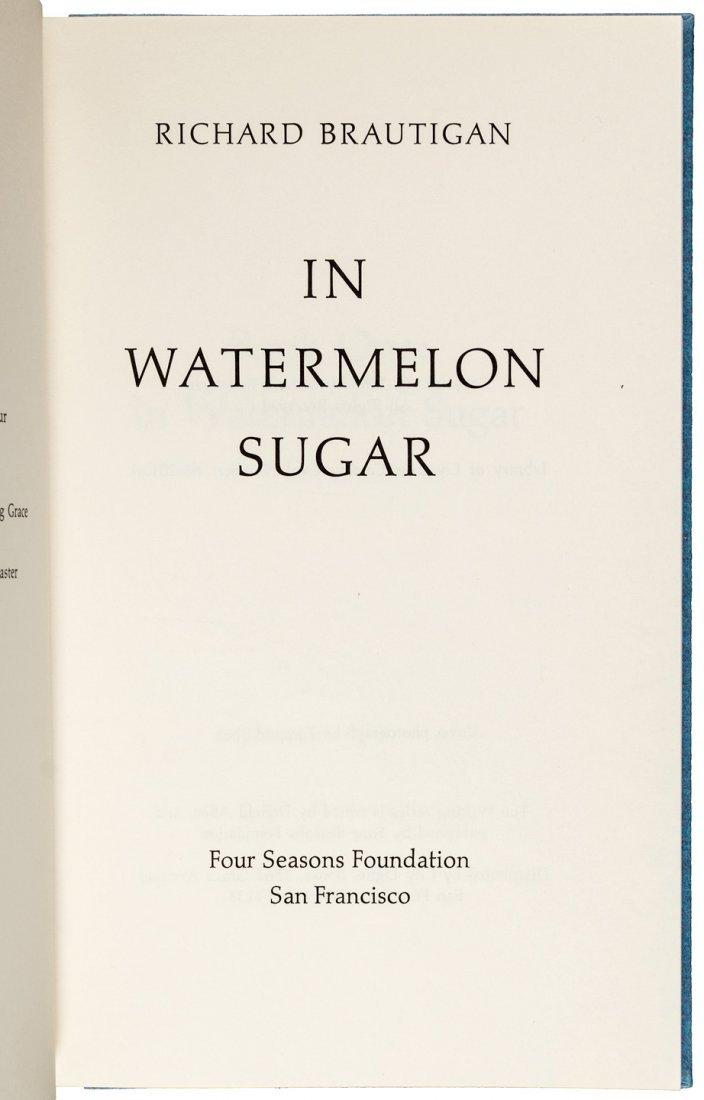 Richard Brautigan in Watermelon Sugar 1 of 50 signed